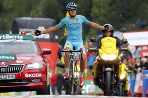 La primera de Landa en la Vuelta © Unipublic
