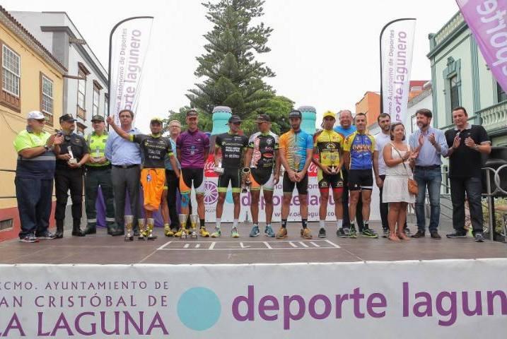 Podio final de la 60ª Vuelta a Tenerife © OAD La Laguna