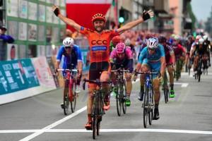 La victoria del italiano © Lampre