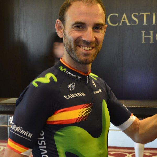 La nueva imagen de Valverde © Movistar