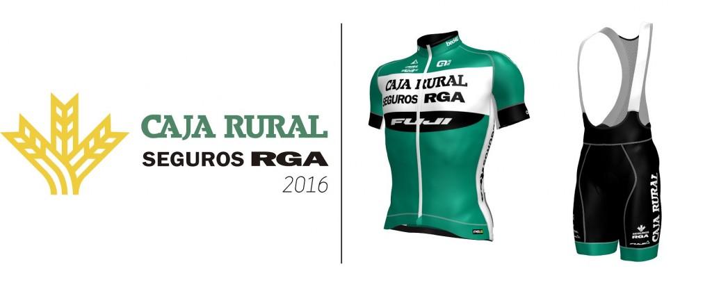 La nueva equipación © Caja Rural-Seguros RGA