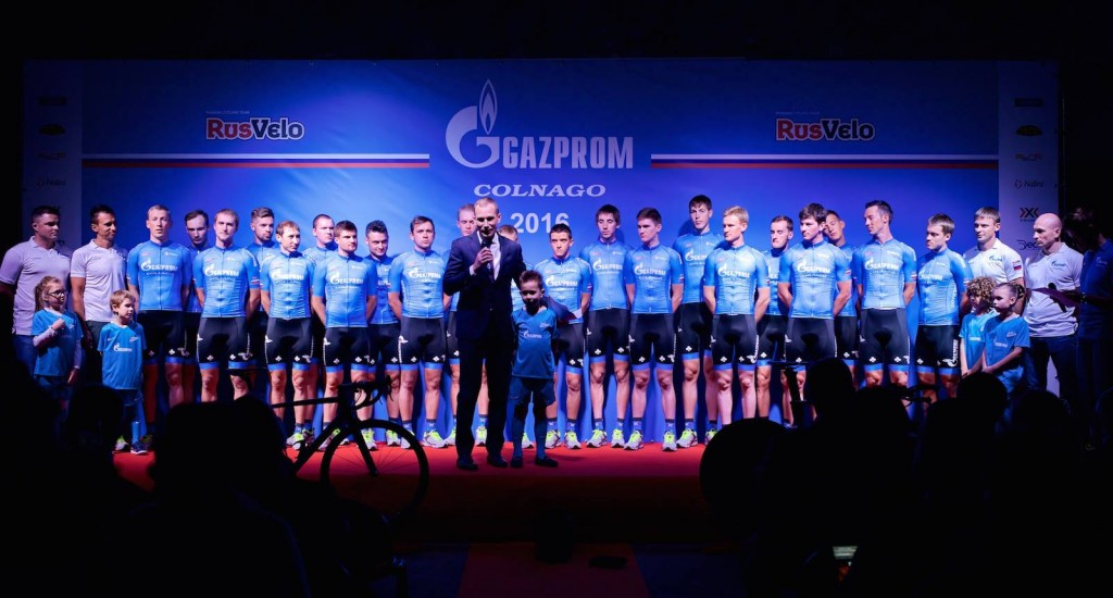 El Rusvelo-Gazprom azul