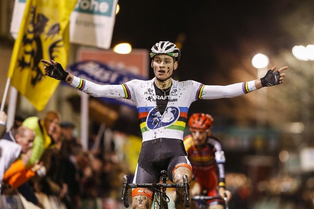 La victoria del campeón del mundo © Superprestige