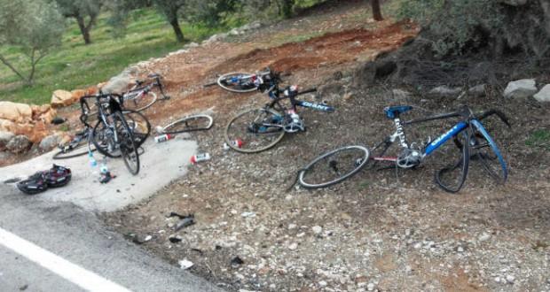 Así quedaron las bicicletas © informacion.es