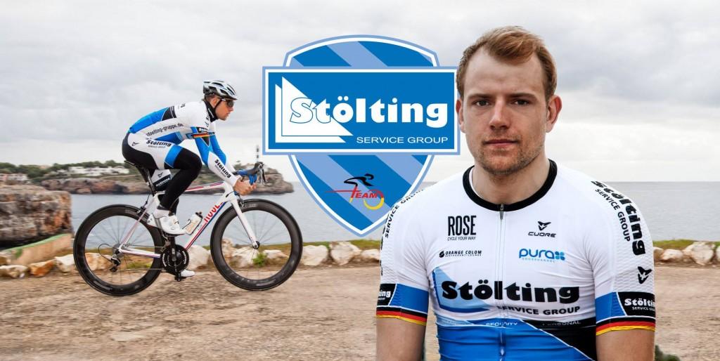 La bici y el maillot del equipo alemán