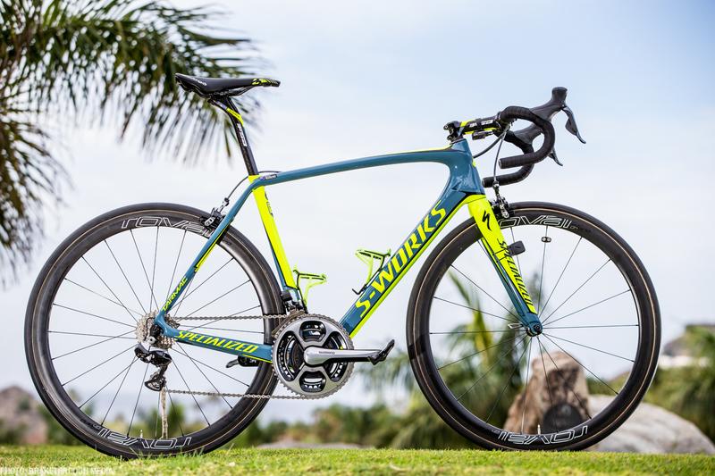 La bicicleta del © Tinkoff y Contador