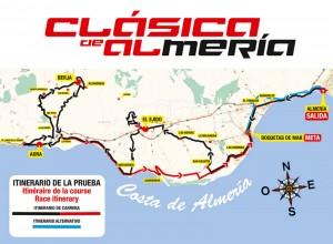 Mapa de la carrera © Clásica Almería