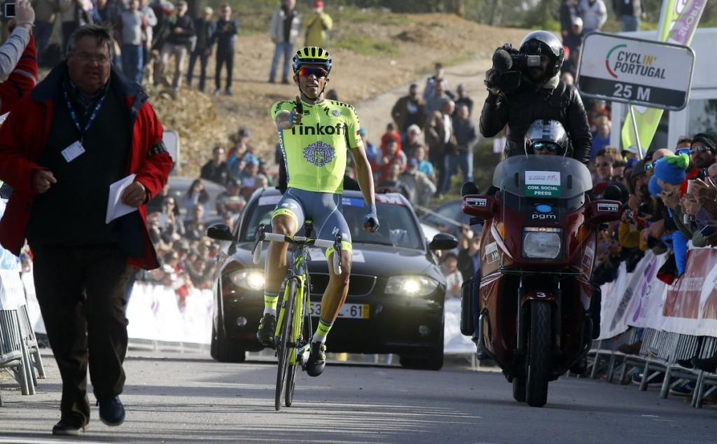 Contador dispara de nuevo © Tinkoff