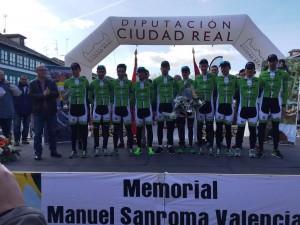 Bicicletas Rodríguez-Extremadura, el mejor equipo de la prueba.