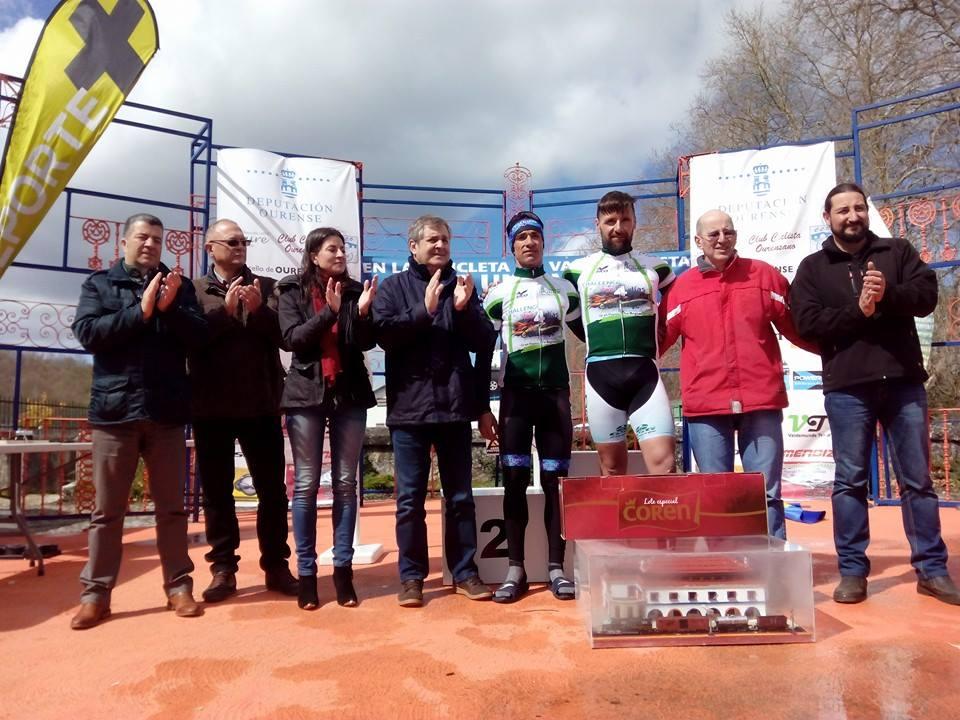 EL mallorquín Rafael Miralles y el salmantino Eladio Jiménez subieron al podio final