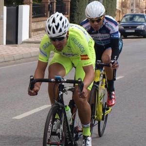 Ángel de Julián, ganador de la carrera toledana © @GoramaCycling