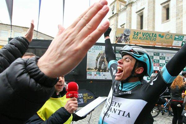 Mas, tras su éxito final @ Volta Portugal