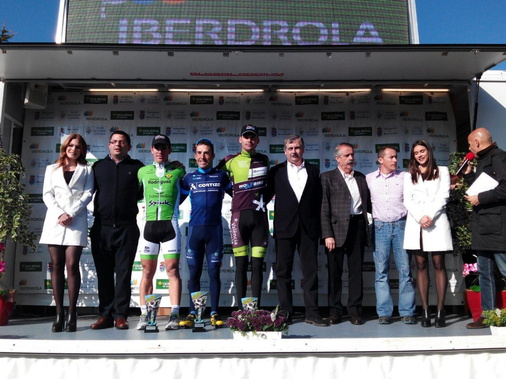 Podio del Trofeo Iberdrola 2016 © Bic. Rodríguez-Extremadura