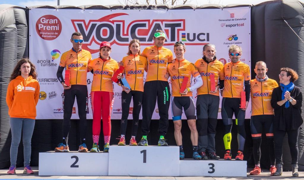 Los vencedores finales de la edición 2016