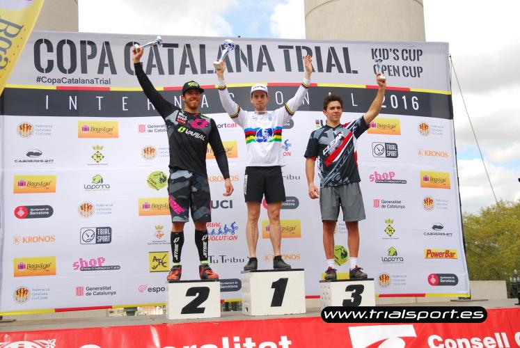 Podio élite masculino © www.trialsport.es