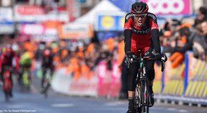 Samu Sánchez, en la meta © BMC