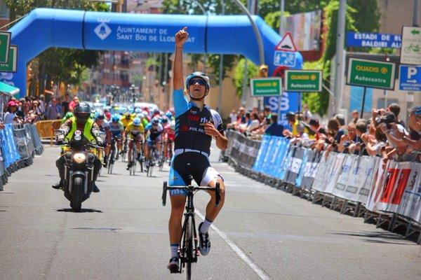 Así celebraba Claudio Clavijo su victoria © FAC