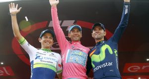Chaves, Nibali y Valverde © Bettini