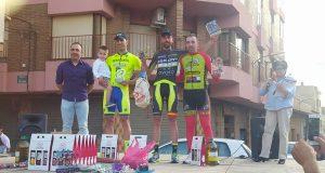 Podio del Trofeo San Isidro en Villamalea © GSport