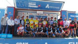 Podio al completo al final del Gran Premio Macario © FMC