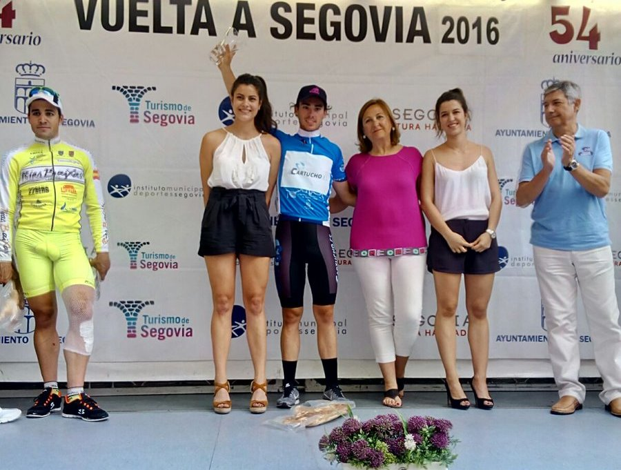 Gonzalo Serrano, vencedor final de la 54ª Vuelta a Segovia © Gorama Cycling