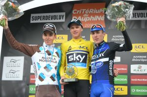 Bardet, Froome y Martin © ASO