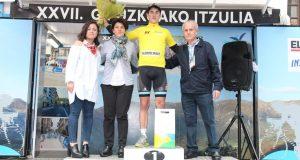 Garikano, primer líder de la ronda gipuzkoana © Vuelta Gipuzko
