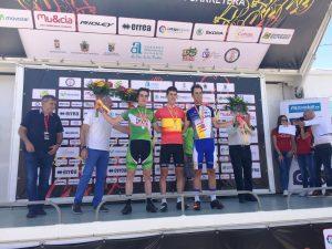 Podio del Campeonato d España sub-23 © Ciclo 21