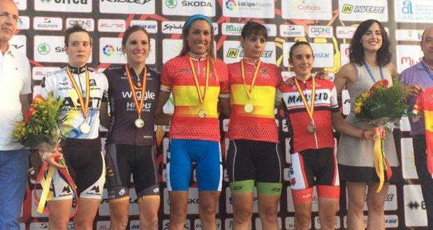Podio completo con todas las medallistas © Ciclo 21