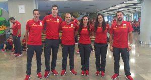 Soto, Peralta, Meliá, Casas, Calvo y Peña © RFEC