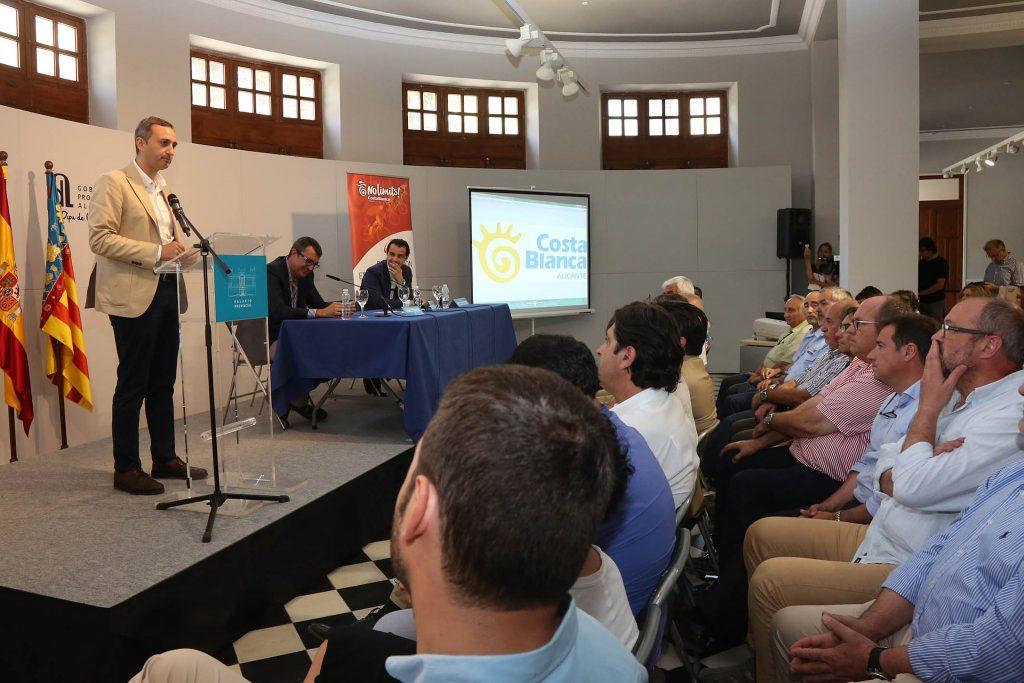 Acto de presentación © Diputación