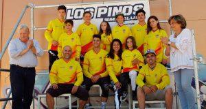 Los líderes de la Copa España tras las pruebas en Los Pinos  © Primerarecta
