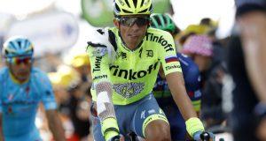 Contador en meta © Tinkoff