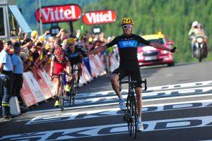 Chris Froome fue el último vencedor en la Planche des Belles Filles / © ASO