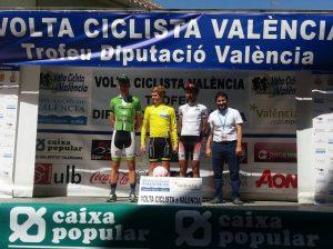 El podio final © Volta València