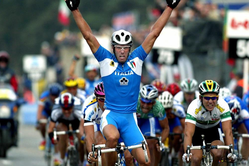 Zolder 2002, otro Mundial de sprinters para Cipollini ...