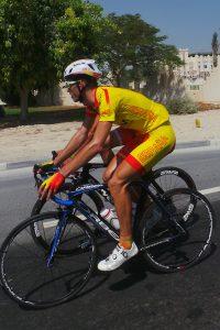 Elosegui en Doha © RFEC
