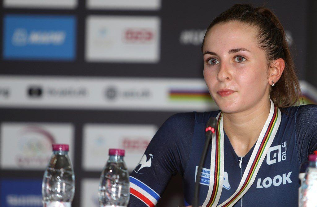 La francesa Labous en la rueda de prensa © D. A.
