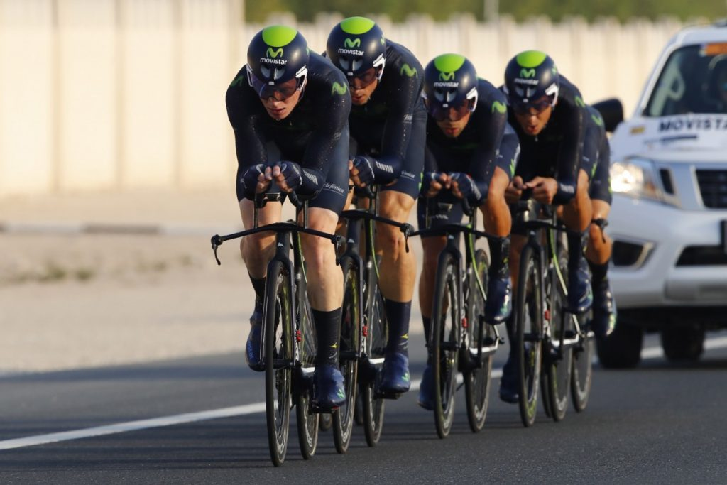 Movistar en carrera