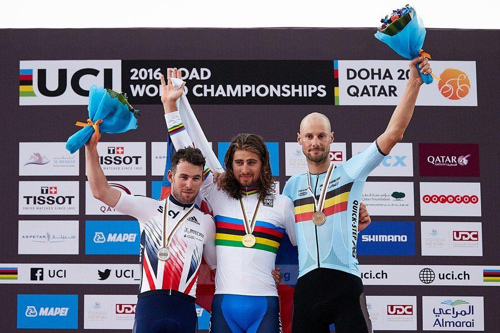 Cavendish, Sagan y Boonen