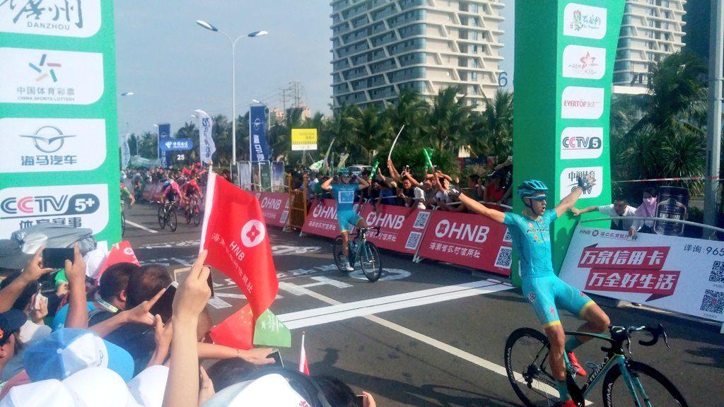 El doblete de Astana © Tour Hainan
