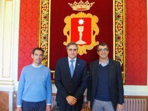 Mariscal con Guillén a su izquierda © Cuenca