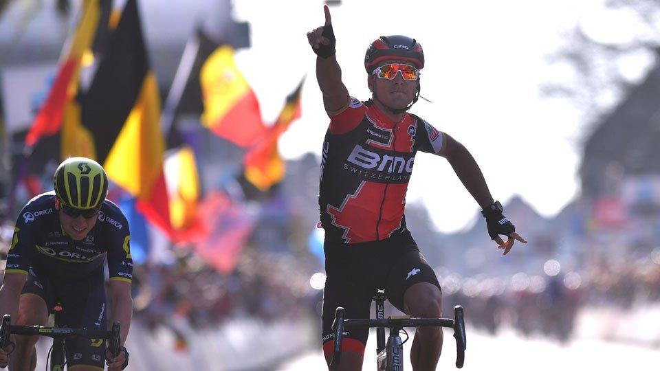 Van Avermaet también consigue la victoria en Gante