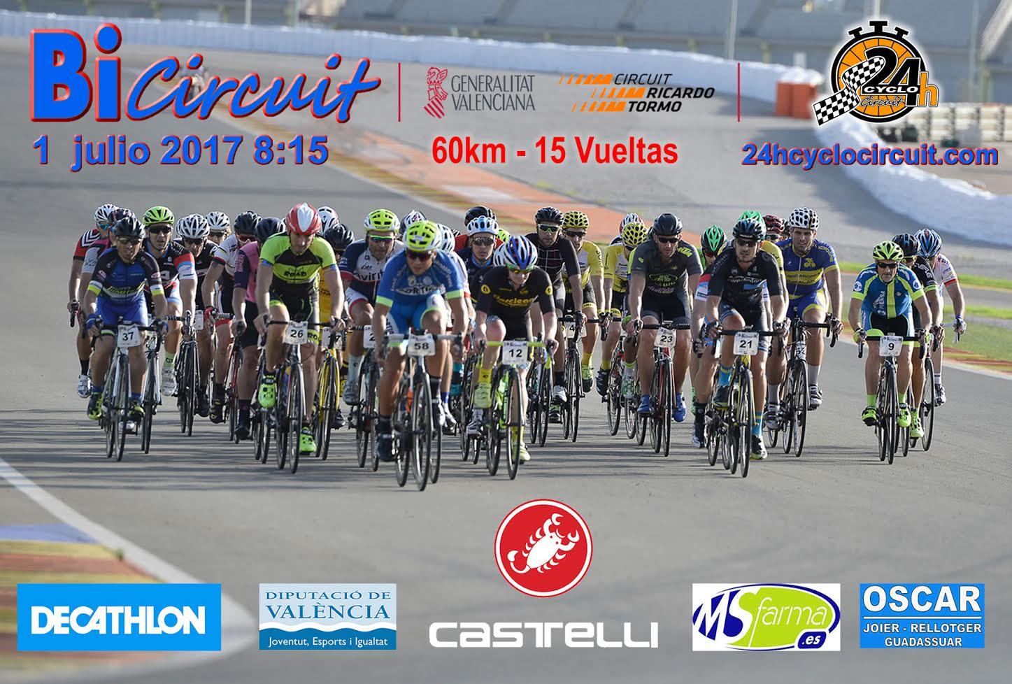 Circuito Cheste : Bicircuit la marcha ciclodeportiva del circuito de cheste ciclo