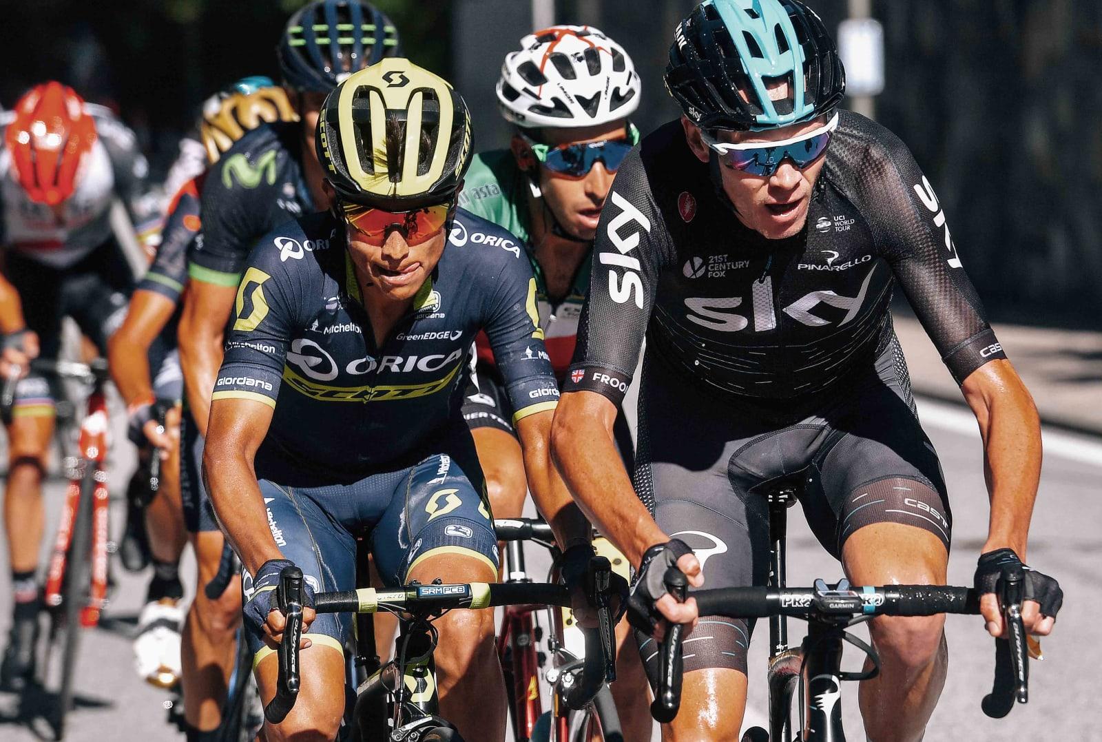Chaves_Froome_Aru_Vuelta España_2017_03