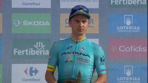Lutsenko_Vuelta España_2017_05_podio
