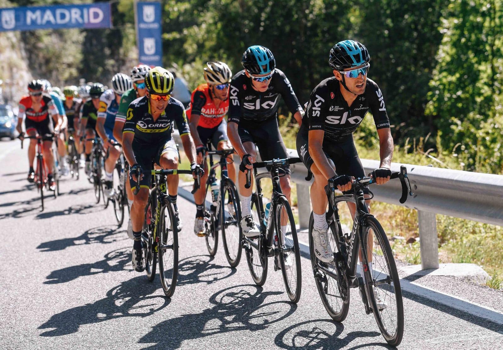 Nieve_Froome_Chaves_Nibali_Vuelta España_2017_03