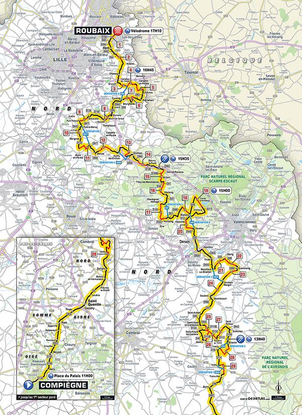 Roubaix_2018_mapa