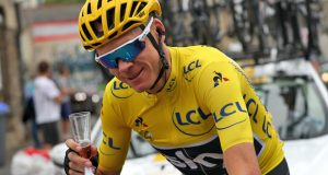 Froome_Champagne