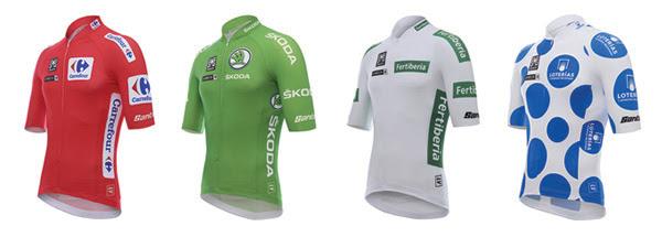 Santini y La Vuelta  800 maillots de líderes y colecciones especiales 3c03069592820